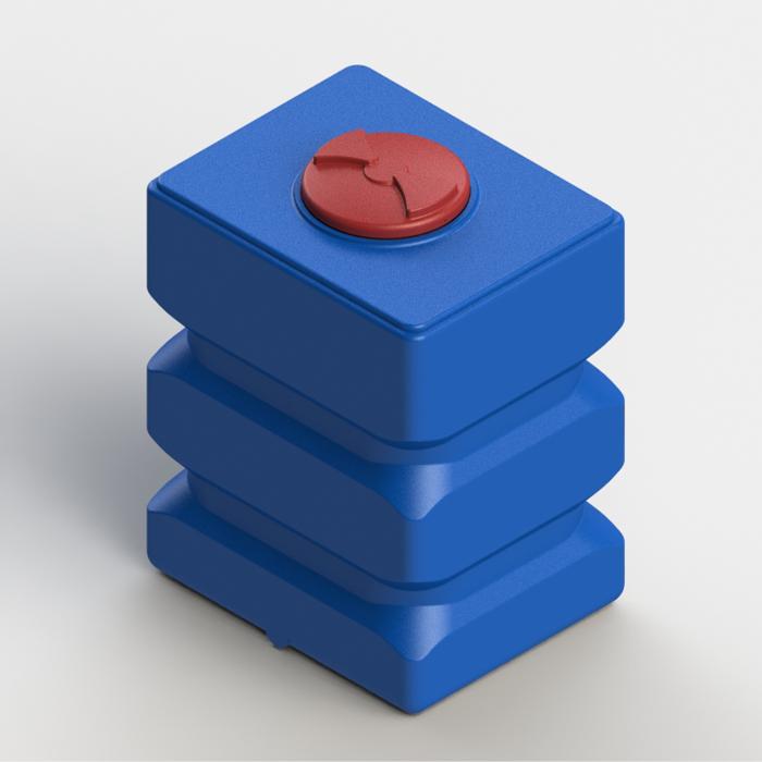 Прямоугольные пластиковые емкости